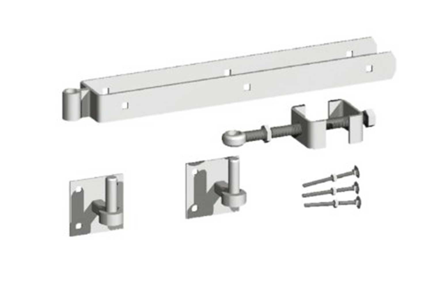 Adjustable Field Gate Hinges