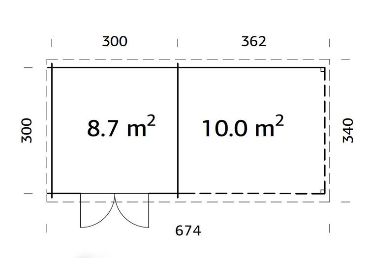 Zermatt 6.6m x 3.0m