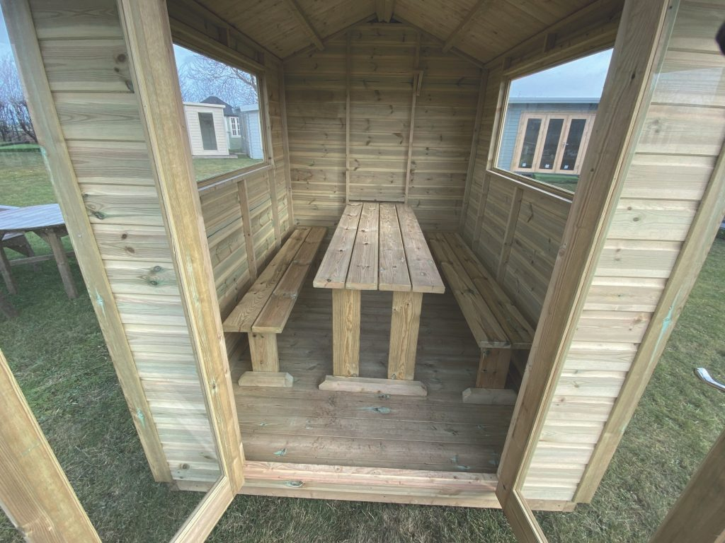 The Chalet 8′ X 6′